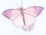 Uzorci veza - Leptir slika dizajn