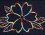 Uzorci veza - Šareni cvet
