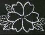 Uzorci veza - Srebrni cvet
