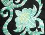 Uzorci veza - Zeleni cvet